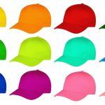 Kleurige caps
